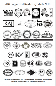 reliable kosher symbols 2